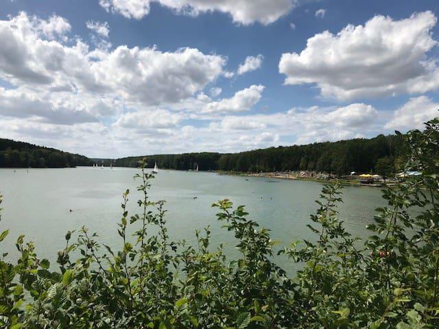 Natur pur! Ferienidylle mitten in Deutschland