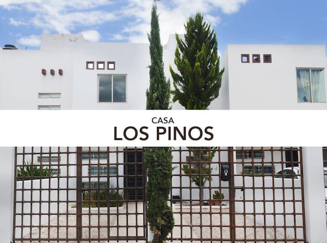 Casa Los Pinos en Ruta a las Grutas de Tolantongo