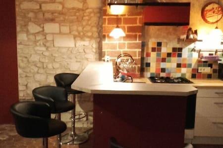 Appartement Atypique, chaleureux - Auxerre - Daire