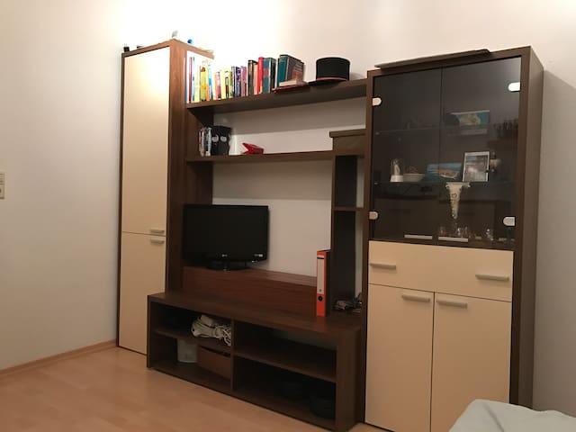 Kleines Zimmer mit TV & WLan - Tuttlingen - Apto. en complejo residencial