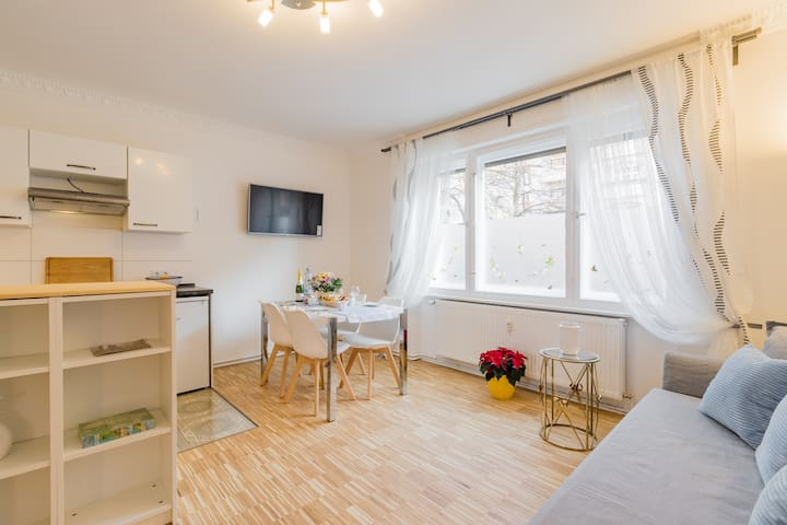 ☘️Charming Apartment 2 rooms Berlin-Mitte (Moabit)