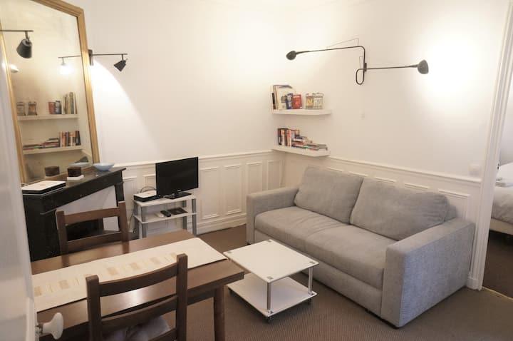 Appartement très calme et soigné, au cœur de Paris