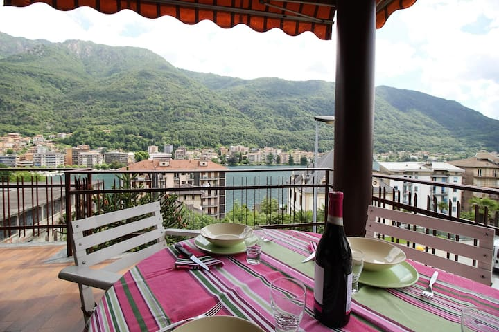 Family in Orta Lake - Omegna - Appartement