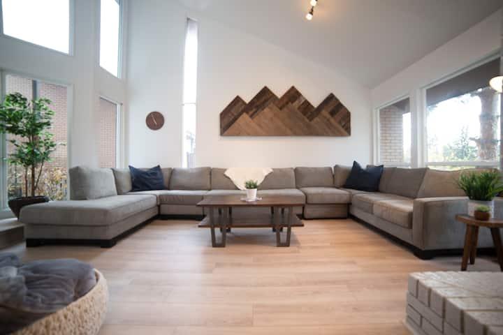 Modern Mountainside Retreat Little Cottonwood
