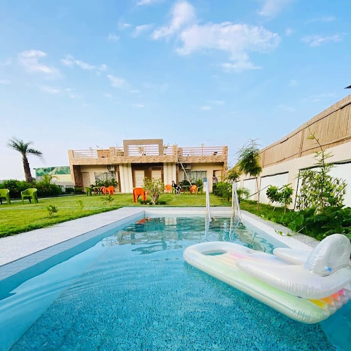 R K Villa 1 - with Swimming Pool and Garden