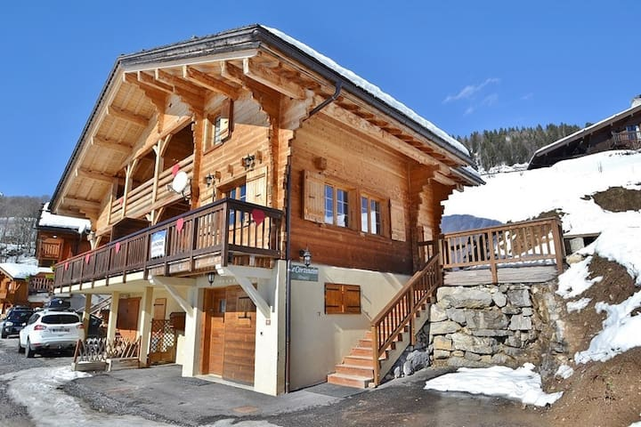 Wonderful chalet for 8 people - LE GRAND BORNAND - Appartement