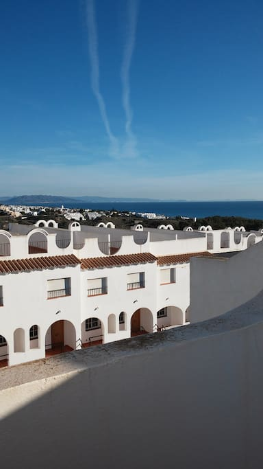 Casa costa mojacar playa townhouse townhouses for rent for Apartamentos playa mojacar