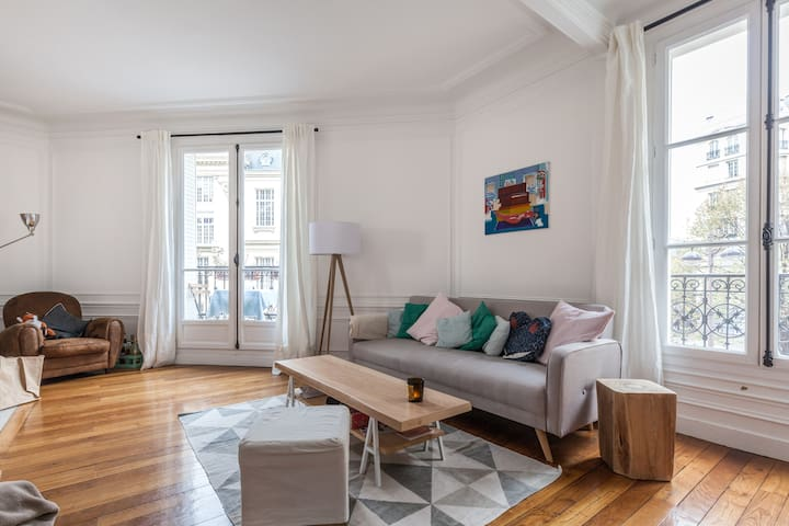 Lovely room in our charming flat - Paris - Apartemen