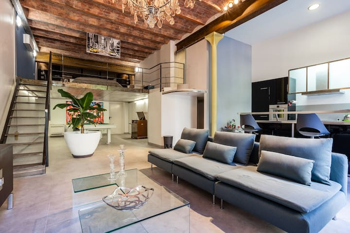 Beautiful Loft Longchamp Palace - Marseille - Loft-asunto
