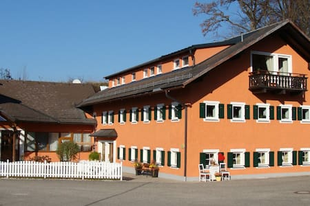 Beautiful Apartment in the Guesthouse Maximilian with Mountain View, Wi-Fi Balcony & Shared Garden; Parking Available