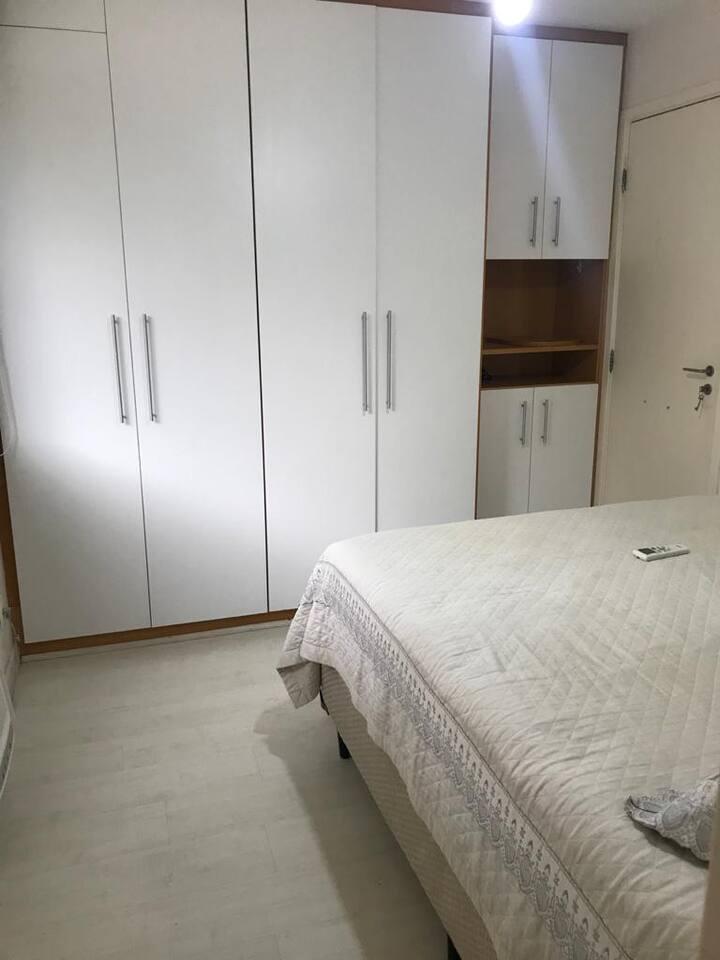 Suíte de Casal em apartamento compartilhado