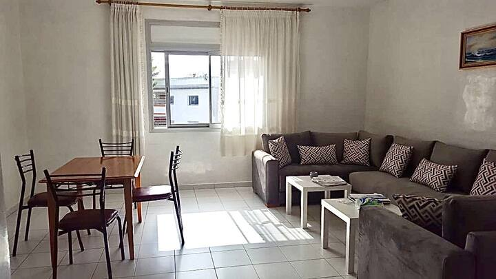 New appartement in Hay Riad, Rabat centre for 5ppl
