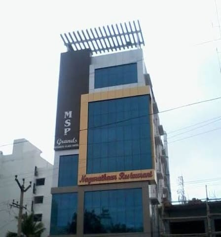 Hotel MSP Grands |KK Nagar|Near Apollo Hospital