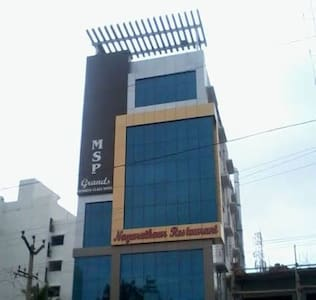 Hotel MSP Grands |KK Nagar|Near Apollo Hospital