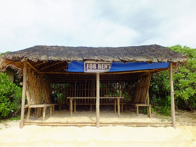 Open Cottage for Groups on White Sand Coral Beach