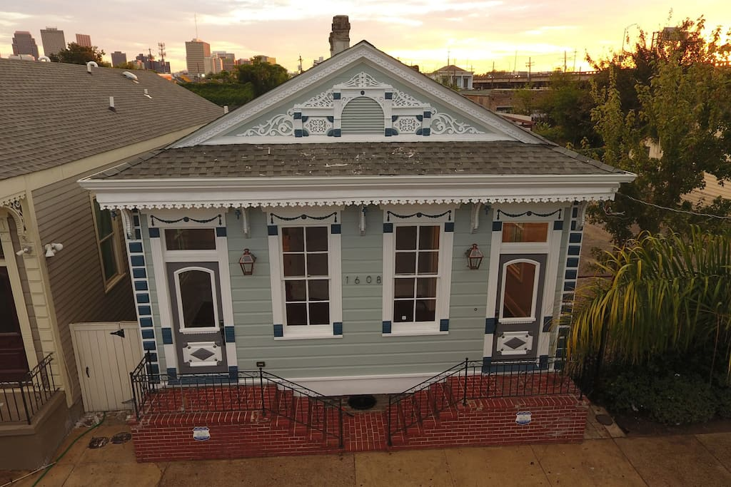 beautiful treme style experience and look of new orleans style home