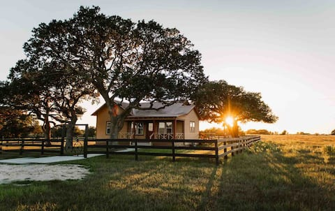 Relax at RMB Longhorn Ranch, a country paradise