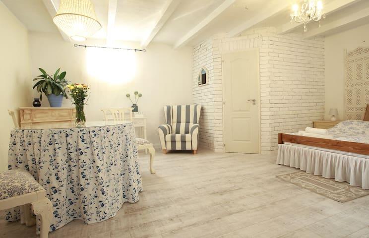 Carolina cottage, vintage apartman