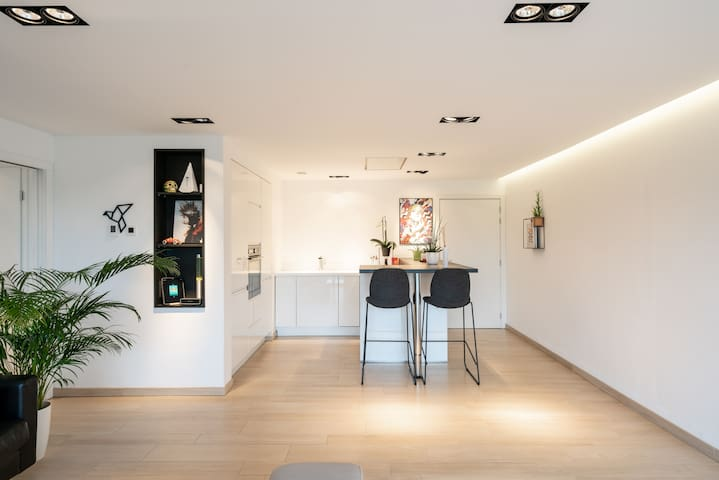 Design & modern apartment in Visé