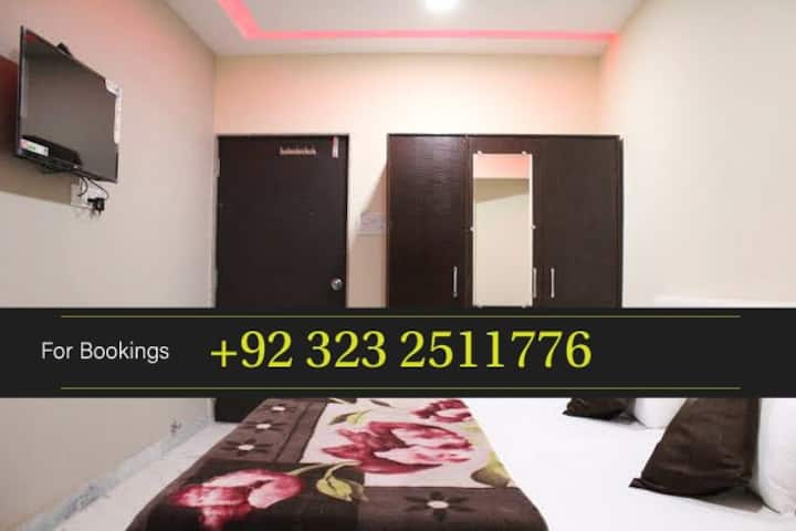 Guest House Rooms on Hourly basis in Karachi
