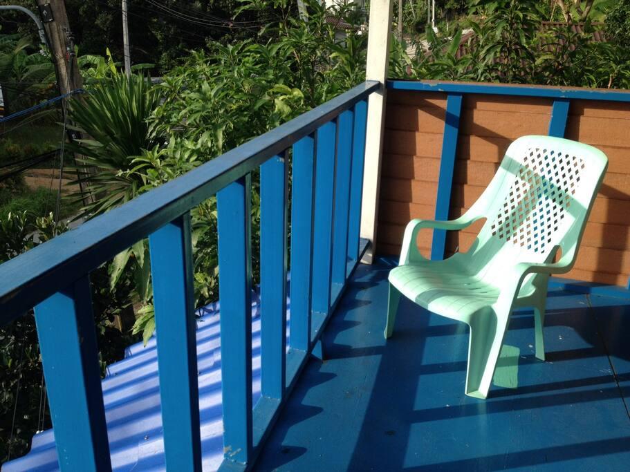 Oder entspanntes Sitzen in der Morgensonne