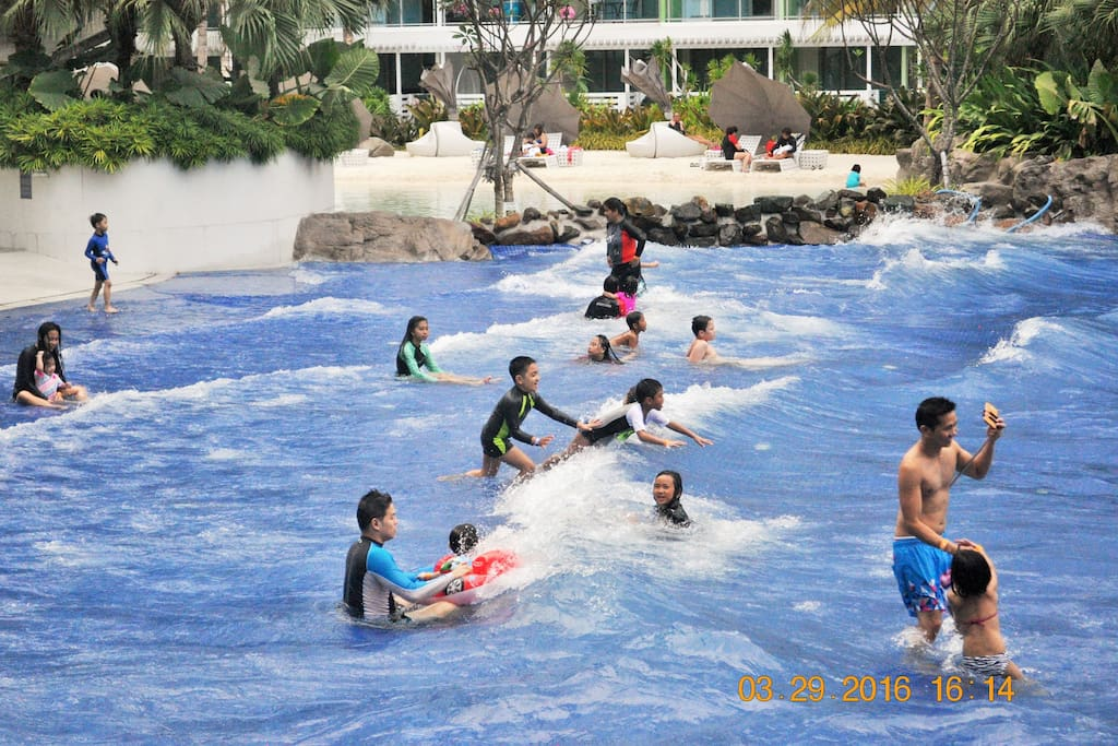 Wave Pool in action.