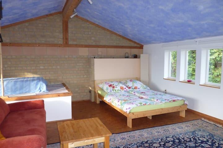 Ruhige Unterkunft in der Nähe von Kassel