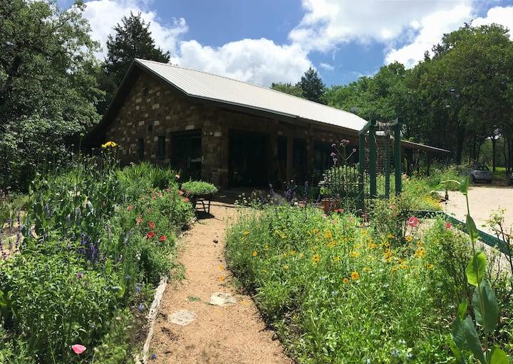 Stone Cottage in the Garden