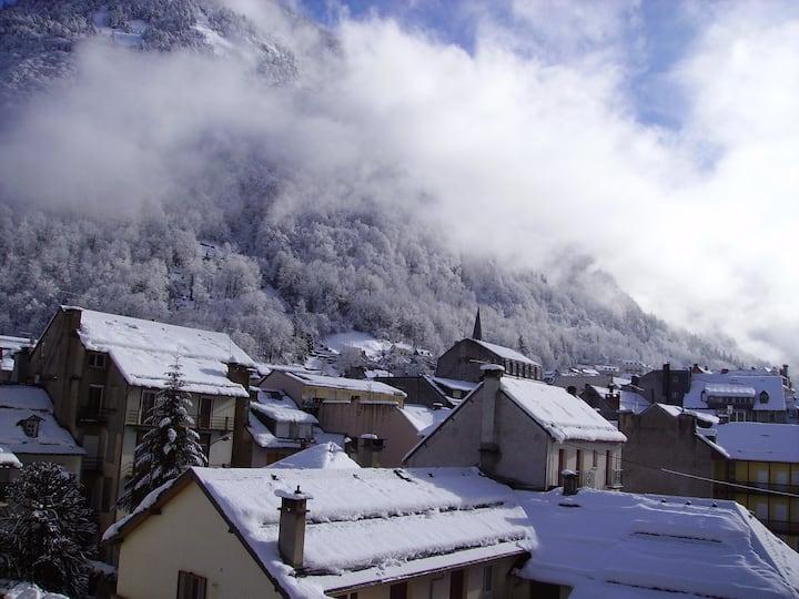 Studio le Lys : vue sur montagne