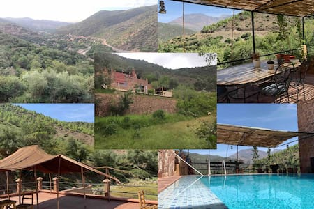 Beautiful Moroccan Chalet in Ourika Valley