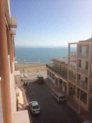 Guardamar del Segura apartment with sea view