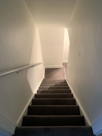 Stairs to Apartment Door