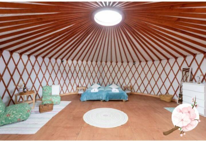 Pasa unos días en una yurta de lujo!!! Mi Samara