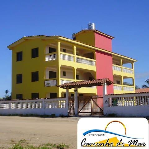 Apto 02. temporada na Praia de Nova Viçosa-Bahia