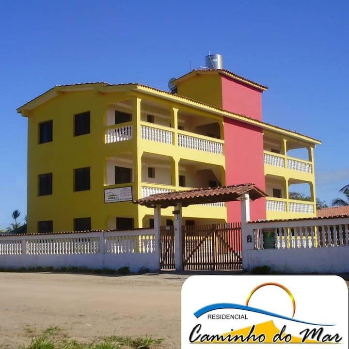 Apto 102. temporada na praia de Nova Viçosa-Bahia