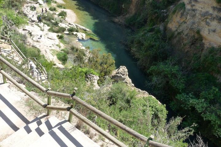 Valencia, Espagne, randonnée, montagne, baignade