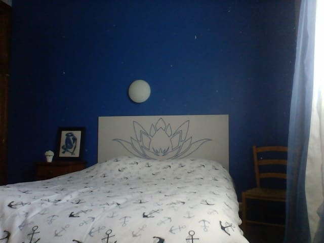 chambre claire et calme
