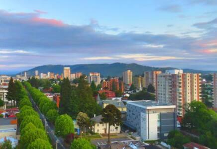 Mejor vista y ubicación en Temuco