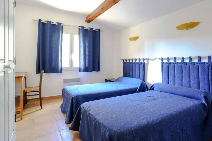 Provencal house on a small holiday resort, located at only 3 km from the Mediterranean Sea