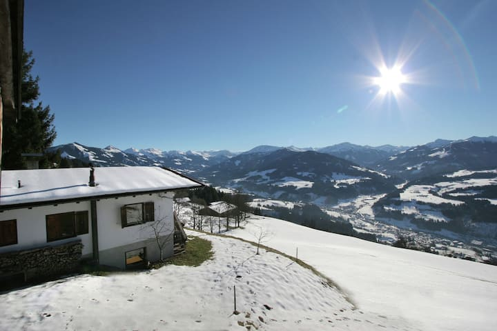 Sunlit Chalet near Ski Area in Hopfgarten im Brixental