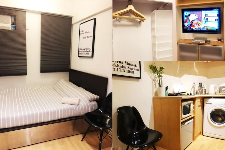 Safe Area Studio Apt! Central, LKF with LIFT 蘭桂坊