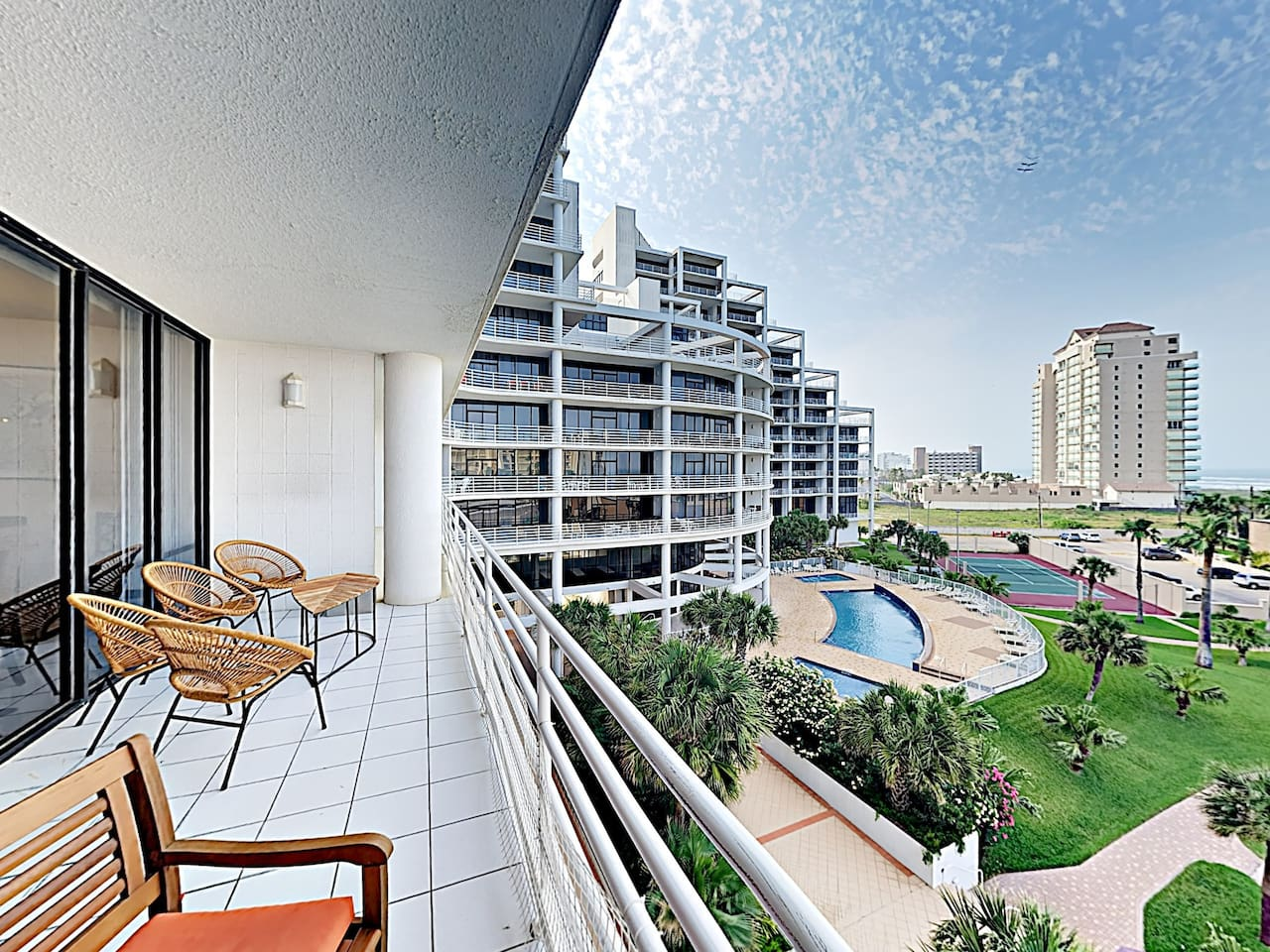 Welcome to South Padre Island! This modern condo with Gulf views is professionally managed by TurnKey Vacation Rentals.