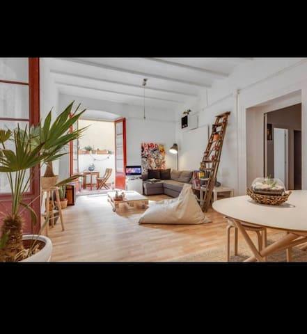 single room w/ private terrace