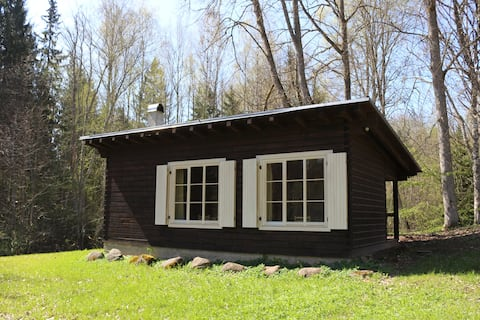 Small cabin with sauna