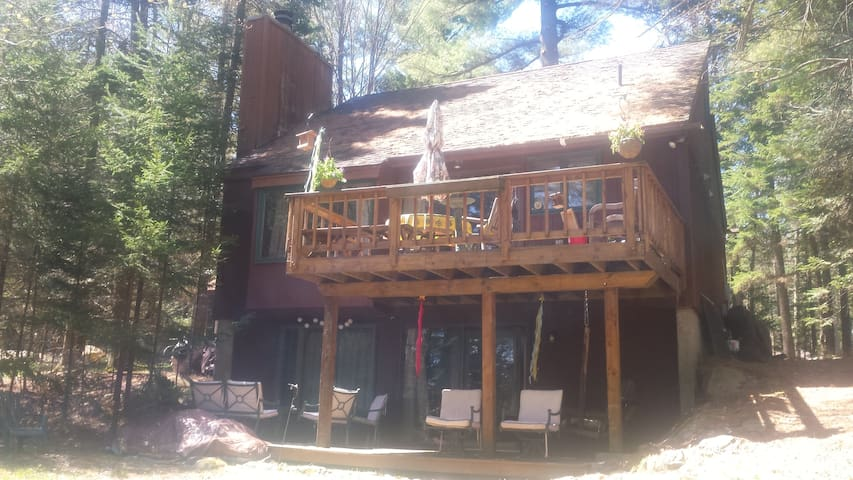 Cozy Austrian chalet style - Lake Placid - Casa