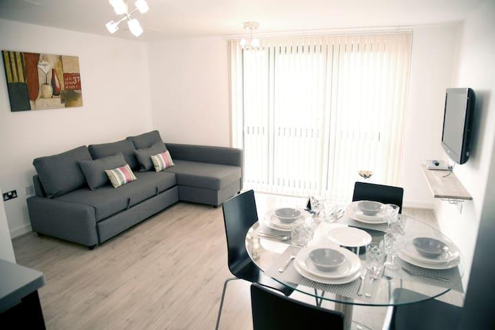 Luxurious Apartment Gants Hill - Gateway Court - Ilford - Departamento