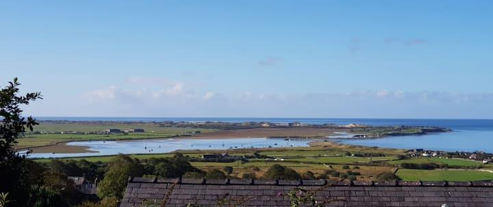 BAY VIEW; Harlech, Snowdonia - fab view & location