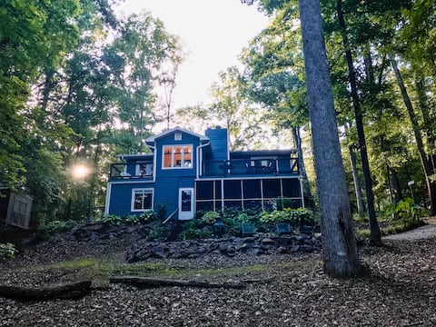 Lavonia on the Lake: Secluded|Spacious|Family Fun🏓