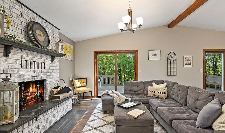 Pure Michigan River Retreat on the Muskegon