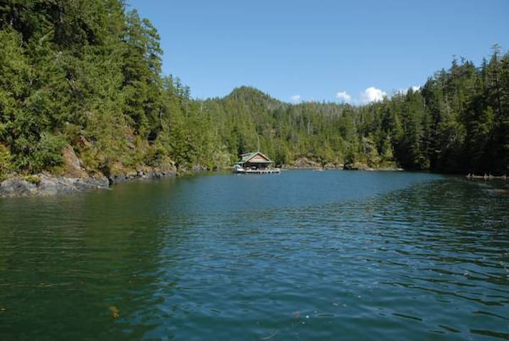 Floating Cabin off Bligh Island (Nootka Sound)